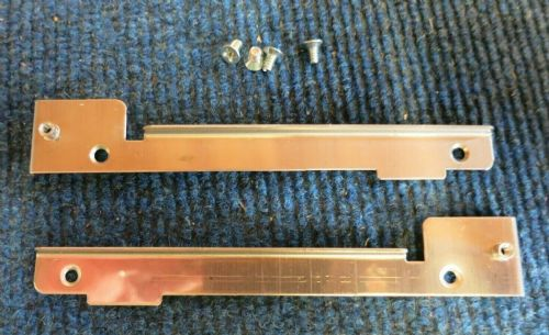 4 x Nexsan Hard Drive Metal Mounting Rails With Screws